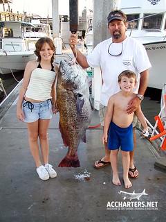 family-friendly fishing charter Amelia Island, FL