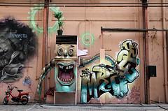graffiti amsterdam (wojofoto) Tags: amsterdam graffiti streetart wojofoto roest vangendthallen heat fatheat mrzero nederland netherland holland wolfgangjosten