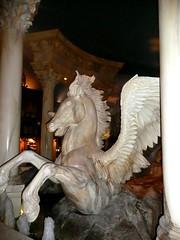 Caesar's Palace Las Vegas (MisterQque) Tags: lasvegas pegasus caesarspalace wingedhorse