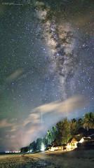 Zanzibar Milky Way (Sanjeev Deo) Tags: beach night canon way stars landscape nightscape 7d zanzibar bwejuu milky milkyway 14mm rokinon