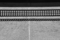 table tennis II (joe.laut) Tags: bw abstract contrast table blackwhite august minimal tennis sw schwarzweiss schatten abstrakt miniseries 2014 abstractreality incoloro joelaut