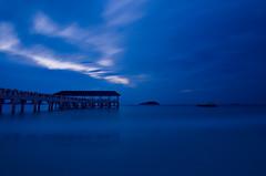 Emotional Dawn ! (hardsss) Tags: longexposure blue seascape landscape dawn redang seaport