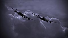 Yesterday's today.. (mickb6265) Tags: vera battleofbritainmemorialflight bbmf pa474 bombercommand cwhm rafconingsby avrolancastermkx kb726 avrolancastermk1 thumper111 littlegransdenairandcarshow2014 pilotofficerandrewmynarskivc