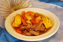 Carbonada (zpalmier) Tags: food argentina buenos aires comida choclo maz zapallo carbonada
