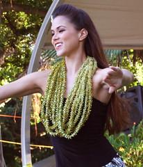 Nanea Oda (colleeninhawaii) Tags: woman beautiful hawaii dance waikiki oahu hula lei wahine