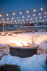Event Lighting (Christmas World) Tags: lighting christmas light house holiday snow tree lights backyard led event incandescent c9 c7 christmaslitescom