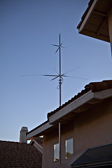 Hamming It Up (dleany) Tags: california home ham antenna 2470mmf28l 5dmkii