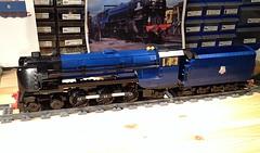 "Lego Peppercorn A1 ""Tornado"" WIP (michaelgale) Tags: train lego wip steam locomotive a1 tornado peppercorn moc lner"