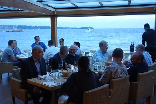 EPIC Dinner ECOC 2O14 Cannes - France (16)