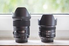 Sigma vs Canon 35mm (Bastianisen) Tags: art 35mm canon is 14 sigma vs usm 20 comparison versus vergleich hsm