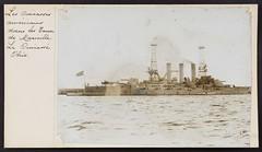 1A1182101_283348X047 (Universit de Caen Normandie) Tags: ship bleu battleship usnavy usn warship unitedstatesnavy ussohio predreadnought bb12 maineclass predreadnoughtbattleship ussohiobb12