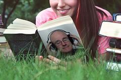 Book Lover - My Playlists (Leo Reynolds) Tags: webthing photofunia xleol30x xxx2014xxx