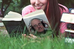 Book Lover - My Playlists (Leo Reynolds) Tags: webthing photofunia xleol30x