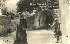 Santo Francesco (Truus, Bob & Jan too!) Tags: 1920s italy cinema film saint vintage movie francis religious star italian italia silent postcard poor screen movies actor santo italiano acteur filmstar stummfilm attore schauspieler historicalcostume muto povero muet darsteller cinemaitaliano historicalfilm santofrancesco fratefrancesco giulioantamoro albertopasquali