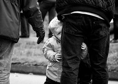 Remembrance Day (. Jianwei .) Tags: street candid kid monochrome portmoody remembranceday vancouver sony a6000