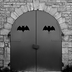 Batman's home in Dijon... (Marc_L21) Tags: batman gothamcity dijon