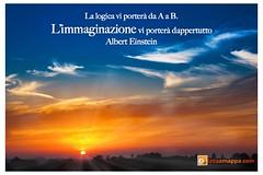 logica (marco.venturi1) Tags: immaginare albert einstein logica frase immaginazione frasi sole natura