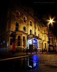 Night Reflections (cabmanstu) Tags: isleofman douglas promenade night nightphotography reflections neon pub streetphotography