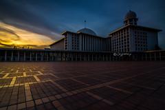 Dawn at istiglal (Jag Motoyu) Tags: jakarta nikon d7100 istiqlal masjid ibadah jagmotoyu explorejakarta sunset longexposure filter gnd haida tokina travel indonesia