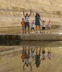 Weekend in the Negev desert, South Israel (Oren & Shimrit) Tags: mitzpe ramon                  negev desert israel makhtesh crater jeep tour 4x4 nubian ibex ammonite dike geology sedimentary rock