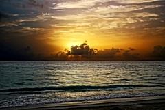 IMG_7271-zp1-on1-zp5 (1) (KitePhotography) Tags: sunrise landscape beach water ocean clouds orange tropical canon sl1 rebel 100d eos tamron tamron16300 puntacana dominicanrepublic