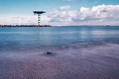 Edisonbaai LE (photo 2) (R. Engelsman) Tags: edisonbaai maasvlakte rotterdam netherlands nederland nl le longexposure ndfilter banggood paddestoel water landscape outdoor shore kust seaside maasmond