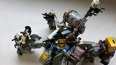 Scab Quad (BadHandle) Tags: lego cyberpunk mech military apoc raider