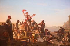 Jolly Flatboatmen in Port (Thomas Hawk) Tags: america forestpark georgecalebbingham jollyflatboatmeninport missouri mo museum saintlouisartmuseum stlouis usa unitedstates unitedstatesofamerica artmuseum painting fav10
