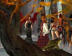 Jesie Halloween Party 6 (hunnibear86) Tags: halloween costume secondlife sl demon wolf lycan