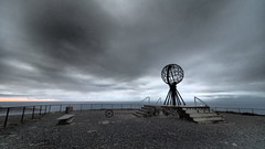 At The Nordkapp (jan-krux photography - thx for 1.6 Mio+ views) Tags: nordkapp norge norway windy cold rainy europe europa olympus em1 omd dramatic dramatisch clouds wolken regen windig travel reisen scandinavia skandinavien
