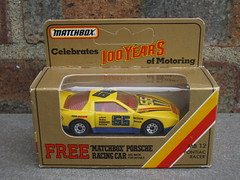 Vintage Matchbox Toys MB12 Yellow Pontiac Racer  1980's Boxed Retro Toy NASCAR ? (beetle2001cybergreen) Tags: vintage matchbox toys mb12 yellow pontiac racer 1980s boxed retro toy nascar