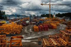 A tidy workplace (ramerk_de) Tags: hdr crane upperpalatinate neumarkt umwelt