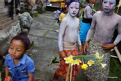 DSC05614 (Peripatete) Tags: bali indonesia ceremony hinduism religion spirituality ngerebeg temple children colors