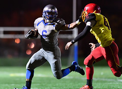 High School Football Running Back (Q Win) Tags: runningback outdoor chicago football highschool il illinois mandrake phillips playoff robeson thepublicleague gotshotbyquinn