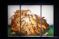 20161112-54-The Island by Walton Ford (Roger T Wong) Tags: 2016 australia hobart mona museumofoldandnewart ontheoriginofart rogertwong sel1635z sony1635 sonya7ii sonyalpha7ii sonyfe1635mmf4zaosscarlzeissvariotessart sonyilce7m2 tasmania art exhibition