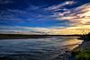 Twilight Fishing on the Waitaki (Kevin_Jeffries) Tags: waitakiriver newzealand nz enzed flickr nikon d7100 nikkor fishing river nature flickrsbest