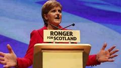 """Mein Kampf"" (dave@greatcoates) Tags: nicola sturgeon european community eec uk united kingdom independance scotland scotish ec"