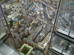 Kings College & the George Inn from Shard (streetr's_flickr) Tags: theshardoflondon highrise panorama tallbuildings structures architecture london city