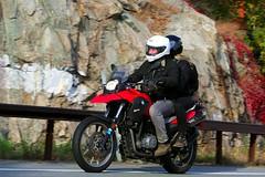 BMW G650GS 1610164752w (gparet) Tags: bearmountain bridge road scenic overlook motorcycle motorcycles goattrail goatpath windingroad curves twisties