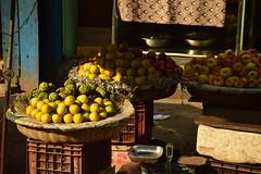 Fruit stall (victoriaei) Tags: kolkata october streetscenes fruit market india travel d5300 indianstreetphotography streetphotography asia nikon