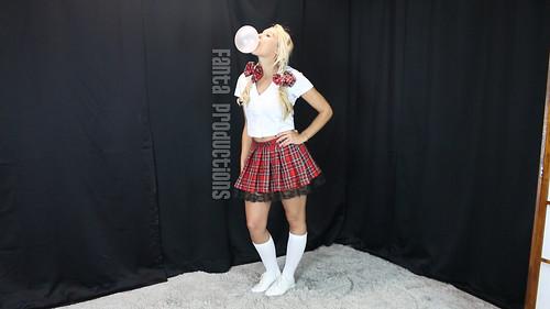 School Girl Bubbles