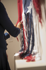 Unraveling with artist Sonya Clark (Nasher Museum Blogs/Nasher Museum of Art at Duke U) Tags: southernaccent unraveling