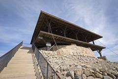 Yuma Territorial Prison State Historic Park (fa5driver) Tags: yuma arizona az panasonic gh3 714mm m43 territorialprison statehistoricpark jailhouse watchtower uwa