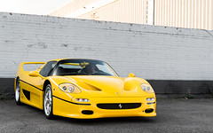 F50 (Alexbabington) Tags: ferrari f50 yellow giallomodena cars car supercar supercars london
