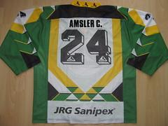 #24 Christof AMSLER Game Worn Jersey (kirusgamewornjerseys) Tags: ehc zunzgensissach game worn jersey 1 liga swiss switzerland eishockey ice hockey christof amsler