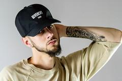 IMG_0982 (sabrinafvholder) Tags: man male hat hipster studio portrait young givenchy sabrinavazholder