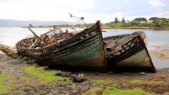 Abandoned boats - Isle of Mull, Scotland, UK (Andy_Hartley) Tags: abandonedboats isleofmull scotland uk abandonedships unlovedboats boats island innerhebrides canon7d canon sigma sigma1770 sea water