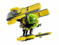 Watchdog Fightercraft (Genghis Don) Tags: lego moc space spacecraft fightercraft spaceship fighter starfighter