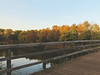 autumns colors (Dreamín) Tags: autumn sunset trees colors fall display river bridge canon powershot sx30is fallcolors autumncolors season herfst nature