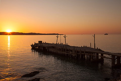 Sunset over the old jetty,  Luderitz 4686 (CanonBruno) Tags: luderitz namibia oldjetty sundown